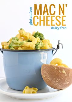 Gluten and dairy free Mac N' Cheese made of good stuff; the kids will never know they are eating their veggies!