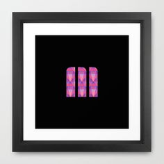 M Vector Scales Framed Art Print by Matt Irving - $37.00