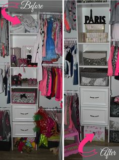 #tuesdaymorning #organization #closets #closetmakeover #clutter
