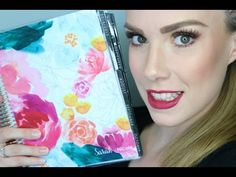 Achieve Your Goals One Day at a Time | Erin Condren Life Planner Review | Sarah Nicole - YouTube