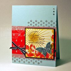 Christian Handmade Greeting Card Trust in the Lord with by JanTink