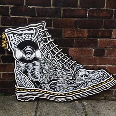 DIY DOCS: Tom J. Newell's work for an in-store customisation event in Sheffield.