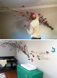 15 Ways To Make Your Walls Beautiful With Butterfly Wall Decorations 15