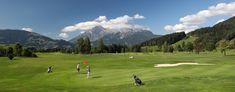 Nur wenige Minuten vom Mountain Resort – die HOCHKÖNIGIN – beginnen die schönsten Erlebnisse im Rahmen Ihres Golfurlaubs. Die 18-Loch-Golfanlage des GC Urslautal zählt wohl zu den schönsten Golfplätzen des Salzburger Landes. Aktiv, Golf Courses, Explore, Frame, Landscape, Summer, Nice Asses