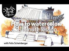 How to watercolor — with Felix Scheinberger - YouTube