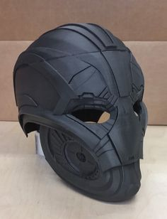 gCreate_straight off bed ultron helmet