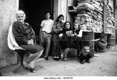 Civilians during the wartime Beirut Lebanon in1989 - Stock Image