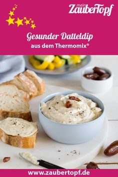 Dip Thermomix, Dips, Panna Cotta, Cereal, Cooking, Breakfast, Ethnic Recipes, Kitchenaid, Food Ideas