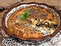 Torta brioche salata funghi e pancetta   Mastercheffa