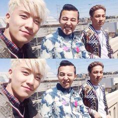 Seungri GDragon Taeyang BIGBANG