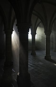 I choose this image for value because the light that pass through the columns create a visual depth and you can feel the space in the middle of the columns.