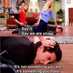"21 Times The ""Friends"" Royally Shut Down Ross Geller When Phoebe and Rachel got their sweet revenge, Unagi-style. 21 Times The ""Friends"" Cancelled Ross Geller's Entire Existence Friends Tv Show, Friends Episodes, Friends Moments, I Love My Friends, Friends Forever, Ross Friends, Friends Cast, Ross Geller, Grey's Anatomy"