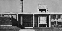 Bridgnorth Secondary School for Girls, Shropshire, UK, 1960 (Lyons, Israel & Ellis, Alan Colquhoun, Associate in Charge)