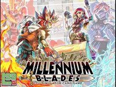 Millennium Blades -- The CCG-Simulator Board Game by David B. Talton Jr. — Kickstarter