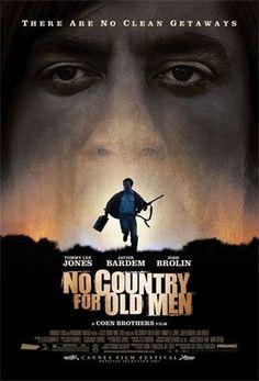 No Country For Old Men (2007) Movies To Watch, Good Movies, A Clockwork Orange, Adam Beach, Alia Shawkat, Roman, Coen Brothers, Superman Movies, Josh Brolin