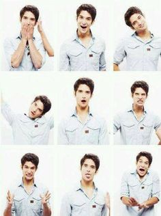 Tyler Posey! Love his face expressions!
