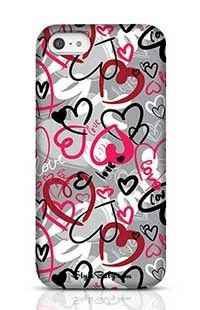Love-Print Apple iPhone 5 Phone Case