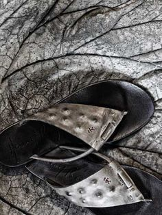 Henry Beguelin FLIP FLOP SLIPPER DNA FOG  A beautiful sandal, with inside studs, that comes from the desire of going back to the roots of the brand detached from the commercial logics and reconnecting to the true nature of Henry Beguelin soul. Primitive instincts, emotions and passion are the main drivers for its style, nothing else. Shop @ www.henrybeguelin.it