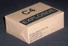 C4 plastic explosive by Crafter08