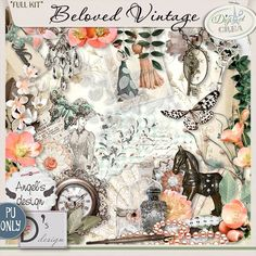 Sweet-Chick Scrap and Co collab Beloved Vintage by Angel's Design and Doudou Design