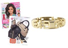PEOPLE STYLE WATCH - MARCH 2012 The Luxor Link Bracelet featured in the March 2012 issue of People Style Watch