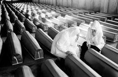 Srebrenica Massacre - 15th Anniversary  Relatives of victims mourn at the Srebrenica-Potocari Memorial and Cemetery on the 15th anniversary of the Srebrenica massacre. Ivo Saglietti 2010 http://www.worldpressphoto.org/photo/2011ivosagliettici-3