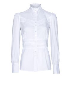 MANGO - Pin-tuck shirt