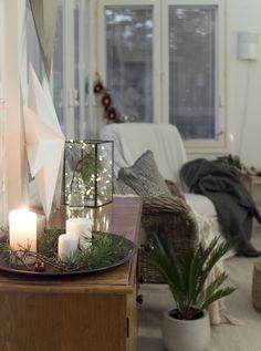 My christmashome.. Oma joulukoti <3 #julhem #joulu #sisustus Christmas Things, Christmas Home, Merry And Bright, Apartment Ideas, House Design, Seasons, Table Decorations, Winter, Diy
