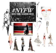 """""""NYFW"""" by ornella-matassoli ❤ liked on Polyvore featuring Bibhu Mohapatra and Nicole Miller"""