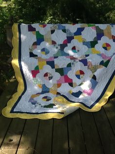 Quilt for daughter Picnic Blanket, Outdoor Blanket, Quilting Board, Daughter, Quilts, Pattern, Quilt Sets, Patterns, Log Cabin Quilts