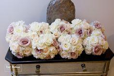 #bridemaidsbouquets #bridemaids #bouquets #blush #white #roses #laurelwooddeisgns #theknot #weddingwire #201