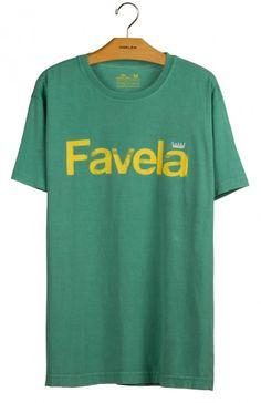 Osklen - T-SHIRT STONE FAVELA - t-shirts - men