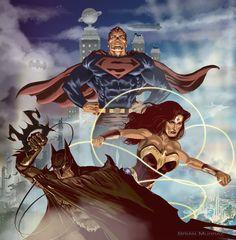 DC Trinity by *Adobewan