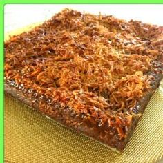 Recipe lumberjack cake by thermo-envy - Recipe of category Baking - sweet