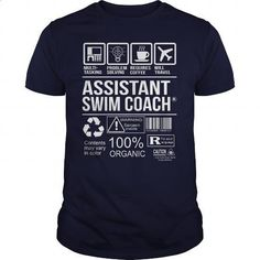 Awesome Tee For Assistant Swim Coach #teeshirt #T-Shirts. GET YOURS => https://www.sunfrog.com/LifeStyle/Awesome-Tee-For-Assistant-Swim-Coach-102902766-Navy-Blue-Guys.html?60505