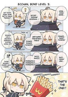 When chunni meets chunni & Manga Fate Stay Night Anime, Chinese Cartoon, Fate Anime Series, Samurai Art, Short Comics, Fate Zero, Cute Chibi, Manga Comics, Anime Art Girl