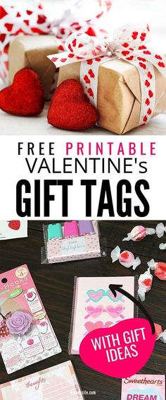Valentines Gift Bag Ideas for family, friends, and coworkers. Fun ideas to celebrate with free printable Valentine