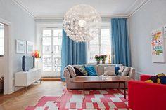Living room-bright apartment
