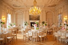 rosecliff newport wedding - Google Search.  This is a rich opulent look