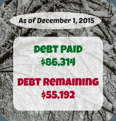 This is personal finance made public. See what they earned, spent, and paid in debt during November.