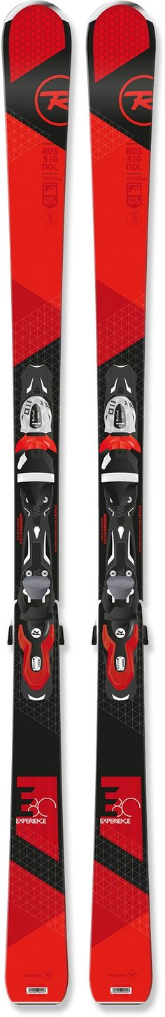 Rossignol Male Experience 80 Skis With Bindings - Men's /2016