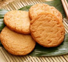 Satsuma Age Fried Fish Cake with Vegetables