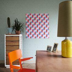 Loco Wink - Ixxi  #walldecor #design #geometric Floor Chair, Wall Decor, Flooring, House, Furniture, Walls, Design, Home Decor, Ideas