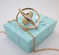 Harry Potter Hermione Granger's Time Turner Necklace