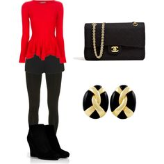 Simple & easy but classy fall outfit.