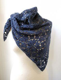 Ravelry: Kathryn shawl / wrap crochet pattern by Kaleidoscope