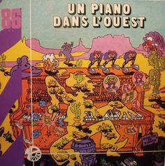 Janko Nilovic - Un piano dans l'ouest #lp #cover