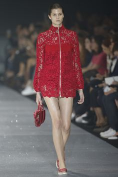 Moncler Gamme Rouge RTW Spring 2015 [Photo by Giovanni Giannoni]