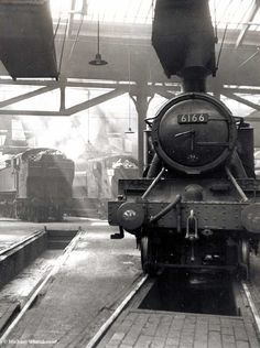 Steam Trains Uk, Birmingham City Centre, Abandoned Train, Steam Railway, Train Times, British Rail, Round House, Train Car, Steam Engine