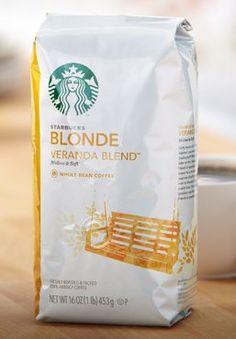 Starbucks Veranda Whole Bean 12 Oz Bag - http://thecoffeepod.biz/starbucks-veranda-whole-bean-12-oz-bag/